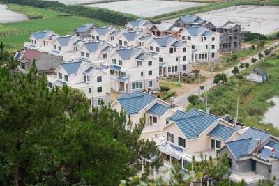 农村一排普通两层楼房设计图