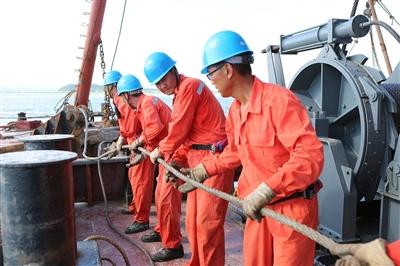 海底电缆完成铺设