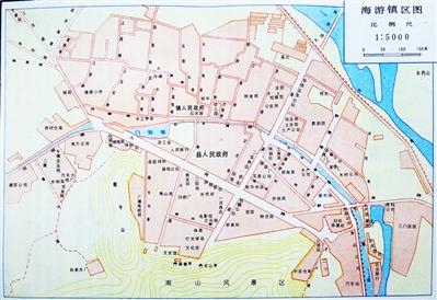 老地图里的城市记忆